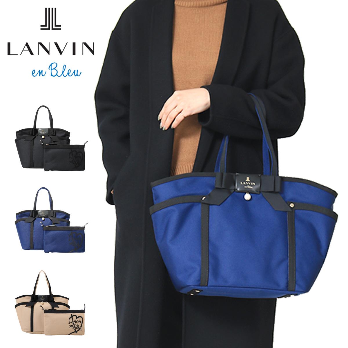 ランバンオンブルー トートバッグ レディース ジュール 481611 LANVIN en Bleu[bef][即日発送]