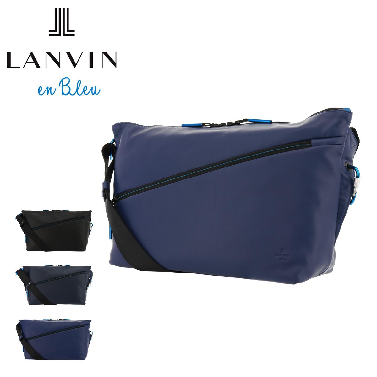 ランバンオンブルー ショルダーバッグ アルマイト メンズ554103 LANVIN en Bleu | 斜めがけ 本革 牛革 レザー[PO10][即日発送]