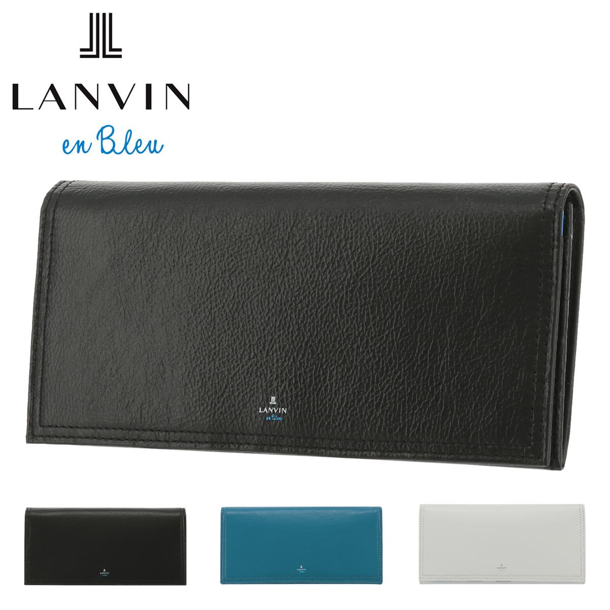 ランバンオンブルー 長財布 プリズナー メンズ 558615 LANVIN en Bleu | 牛革 本革 レザー [PO10]