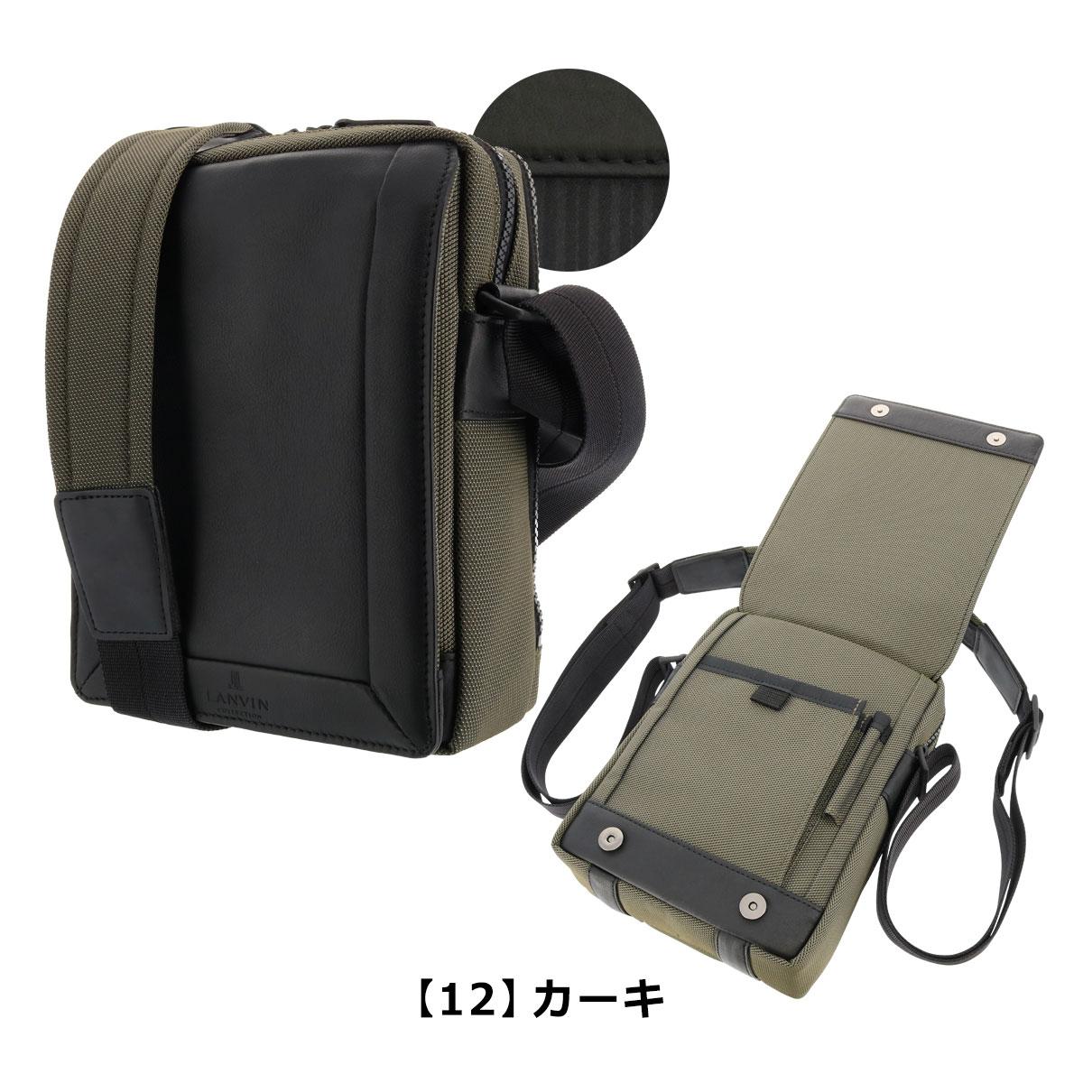 ba592e56b89b COLLECTION LANVIN 日本製 289101 メンズ アクタス ショルダーバッグ ...