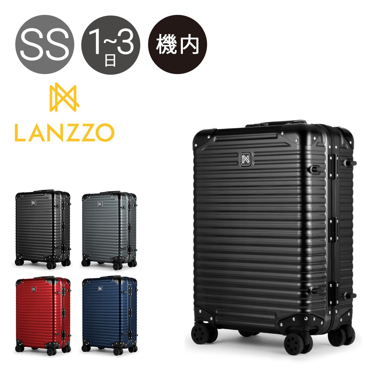 ランツォ スーツケース 34L 49cm 3.9kg ハード フレーム 機内持ち込み ノーマンライト 21インチ LANZZO | キャリーケース TSAロック搭載 軽量 ポリカーボネート 5年保証