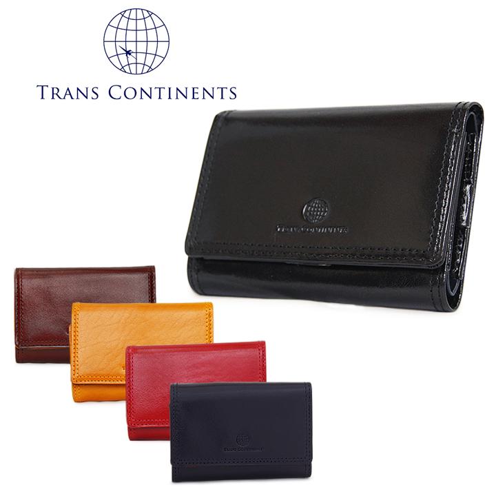 トランスコンチネンツ TRANS CONTINENTS キーケース TC-310016 【 イタリーレザーシリーズ 】【 小銭入れ コインケース メンズ レザー 】【PO5】【bef】【即日発送】
