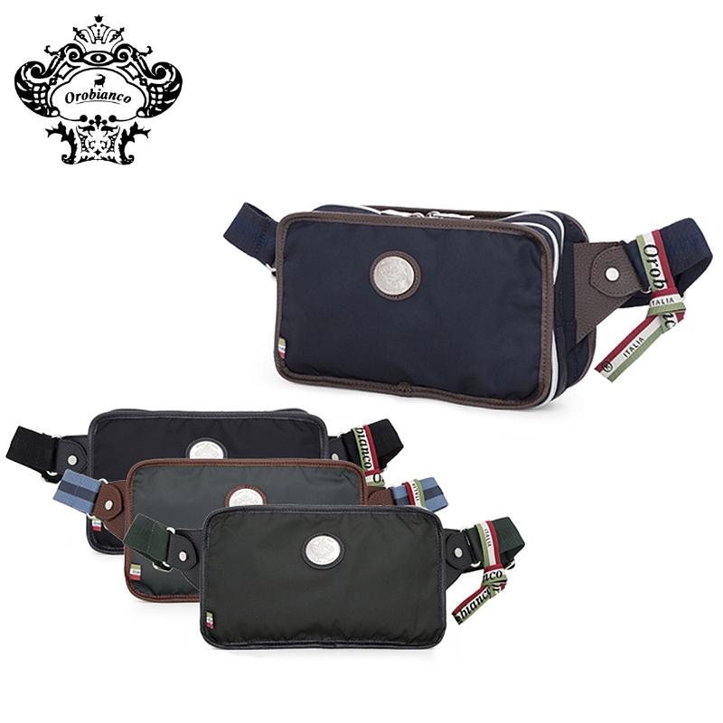 オロビアンコ ボディバッグ メンズ 555001 Orobianco VITTORIOSO-Z8 01 NYLON ワンショルダー [PO10][bef][RSD][即日発送]