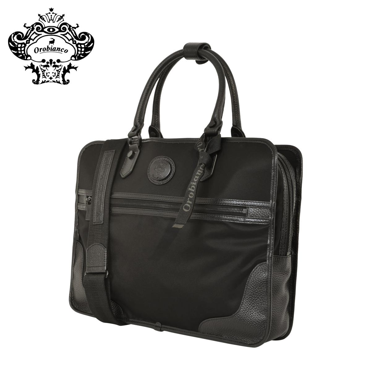 オロビアンコ ビジネスバッグ 2WAY BLACK-LINE メンズ 601201 ZEA-AJ/TT Orobianco   ブリーフケース ショルダーバッグ [PO10]