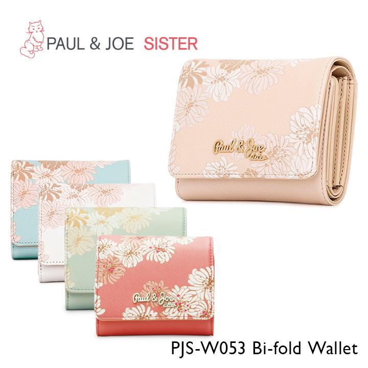 f48480ffc318 ポールアンドジョーシスター三つ折り財布PJS-W053レディースクリザンテームミニ財布 ...