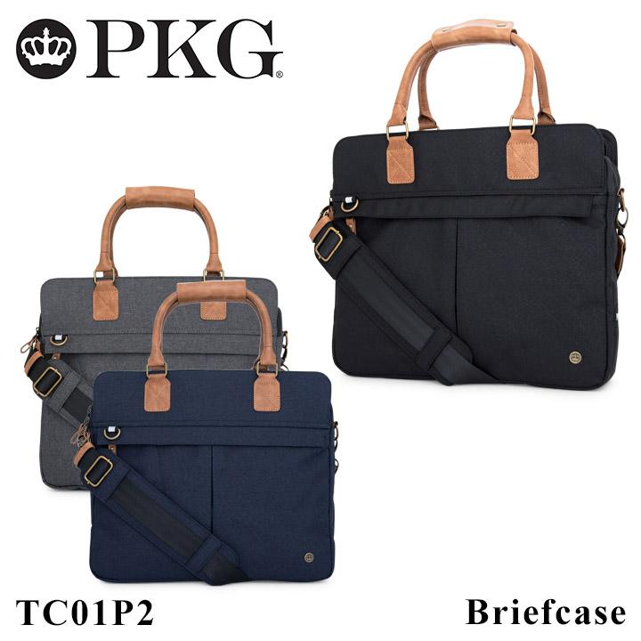 PKG ビジネスバッグ 2WAY メンズピーケージー TC01P2 Travel collection ブリーフケース 3層式 PCケース [PO10][bef]