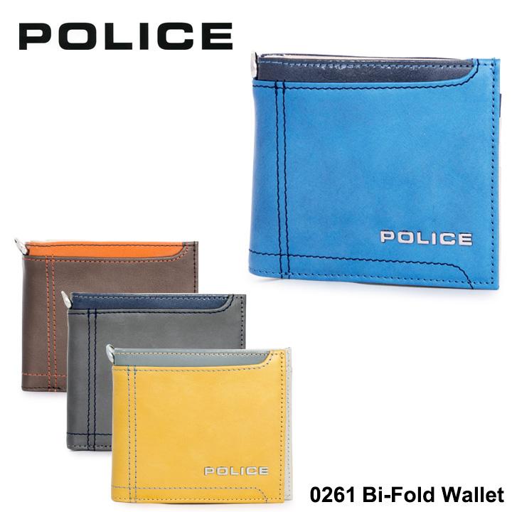 ポリス 二つ折り財布 PA58300 (0261) POLICEAxis アクシス 財布 メンズ 【PO10】【bef】