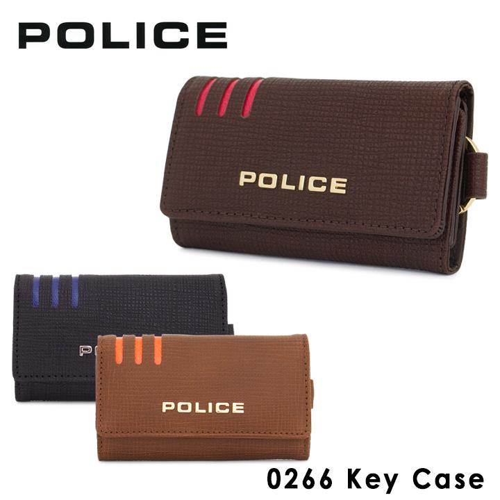 ポリス POLICE キーケース 0266 リネア 【 メンズ レザー 】【PO10】【bef】