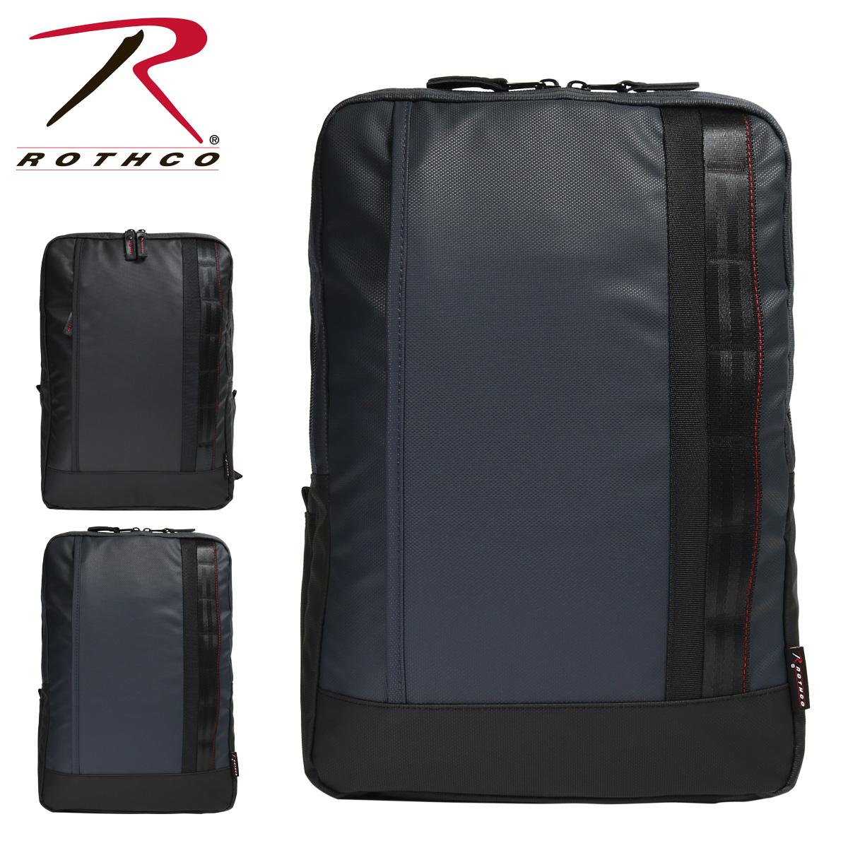 ロスコ ビジネスリュック B4 レッドライン メンズ 45007 ROTHCO | ビジネスバッグ 撥水 大容量[PO10]