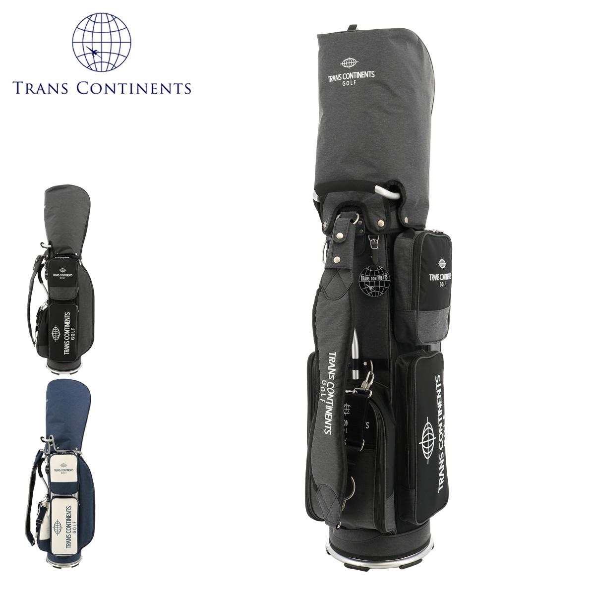 72H限定700円OFFクーポン配布中|トランスコンチネンツ ゴルフ キャディバッグ メンズ TCCB-010 TRANS CONTINENTS | [即日発送]