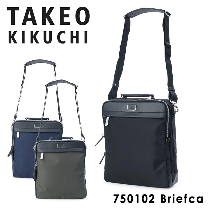 タケオキクチ ショルダーバッグ メンズ カーゴ 750102 TAKEO KIKUCHI A4 縦型 ビジネスバッグ キクチタケオ [PO5][bef]