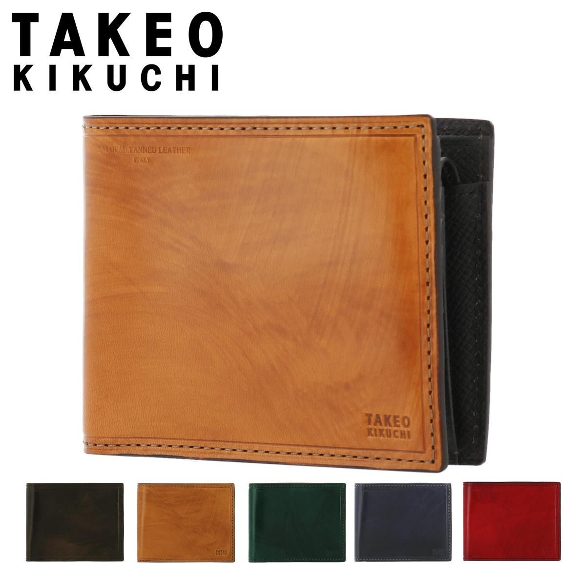 タケオキクチ 二つ折り財布 ハンドII小物 メンズ 779603 TAKEO KIKUCHI | 牛革 本革 レザー [PO5][bef]