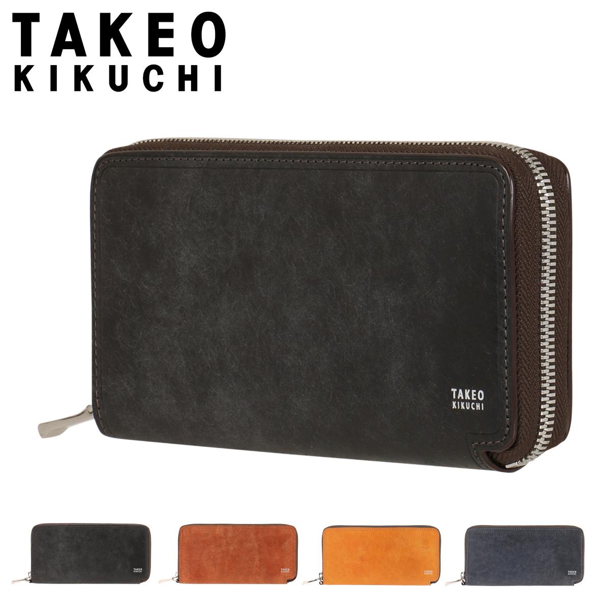 タケオキクチ 長財布 ラウンドファスナー マルゴ メンズ 780605 TAKEO KIKUCHI | 牛革 本革 レザー [PO5][bef]