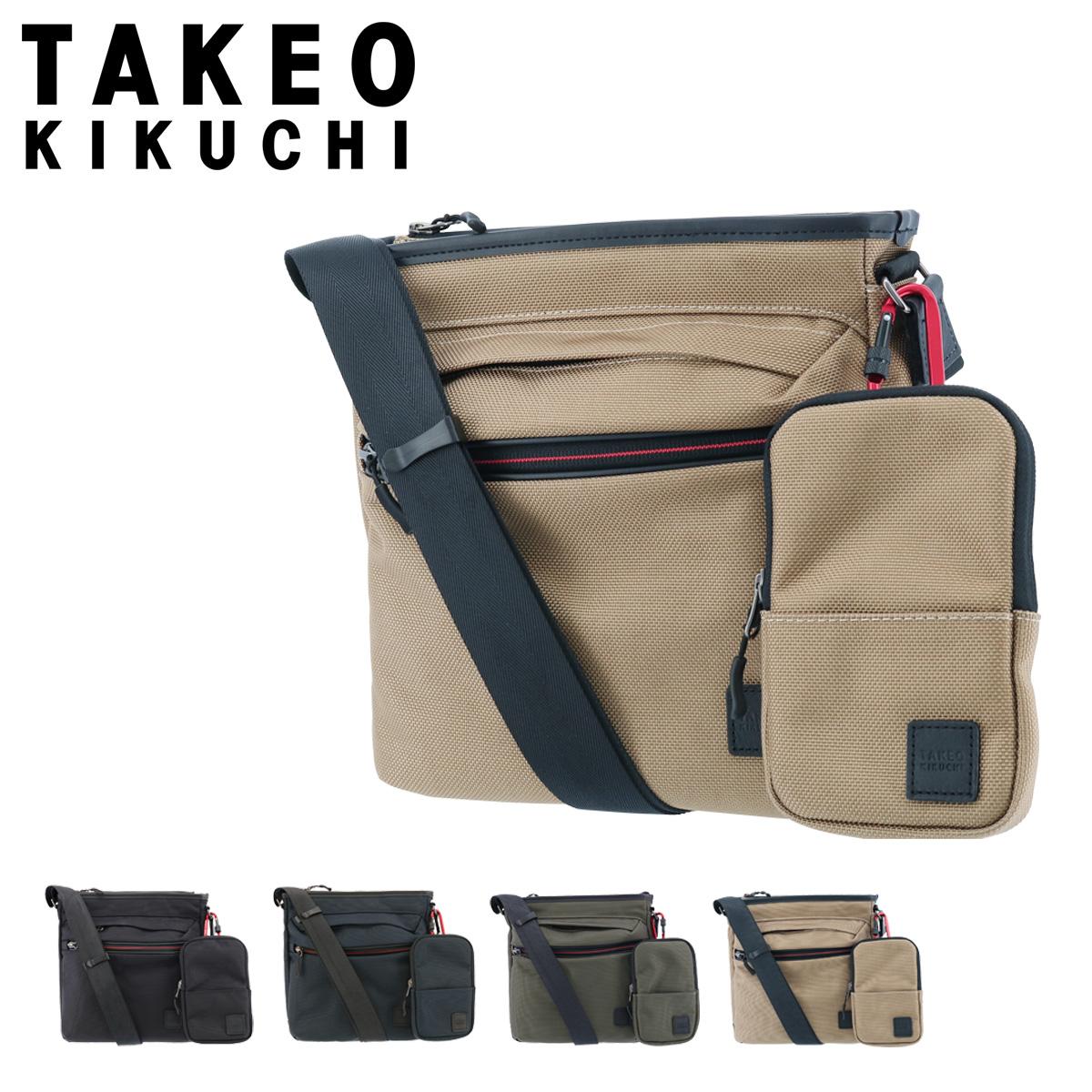 タケオキクチ ショルダーバッグ スプリット メンズ 743114 TAKEO KIKUCHI | ミニショルダー 斜めがけ 縦型[PO5]