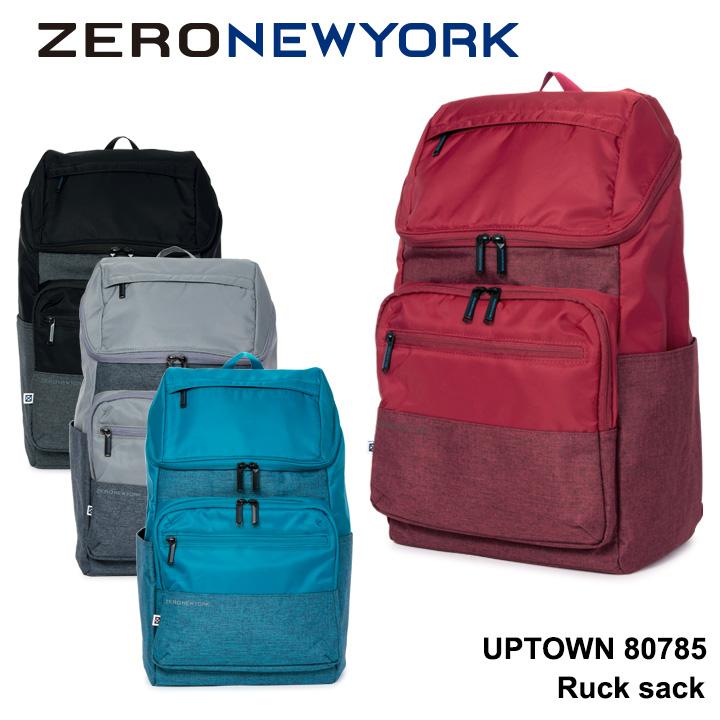 ゼロニューヨーク リュック メンズ レディース 80785 ZERO NEWYORK UPTOWN バックパック リュックサック キャリーオン [PO10][bef]