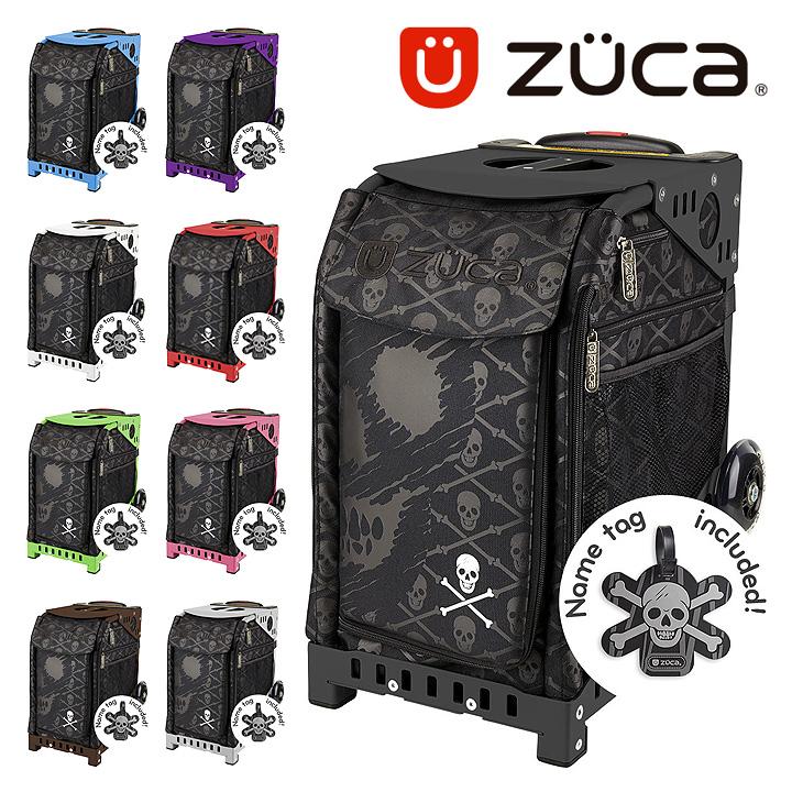ズーカ キャリーケース スポーツ スカル Skulls 352 メンズ レディース キャリーバッグ スーツケース ZUCA 【 ネームタグ付き 】【PO10】【bef】