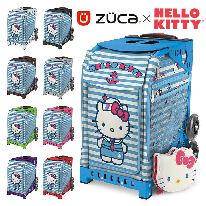 ズーカ キャリーケース スポーツ ハローキティ Hello Kitty セイルウィズミー Sail With Me 142004 レディース ポーチ付き キャリーバッグ スーツケース ZUCA [PO10][bef]