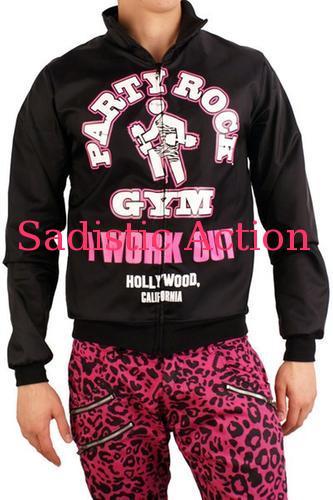 【即納】Party Rock Clothing Unisex Party Rock Gym Jacket 【Party Rock Clothing】【PR-JK-Party Rock Gym Jacket-B/P】