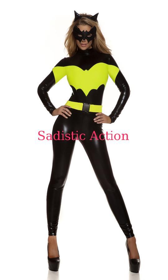 【即納】Forplay Darque Nights Sexy Sexy Superhero Costume 【Forplay (ダンスウェア、衣装、コスチューム、小物)】【ハロウィンコスチューム】【FOR-CO-553712】