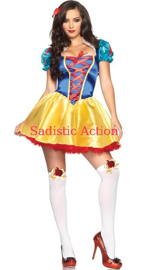 【即納】Leg Avenue Classic Snow Princess Costume 【Leg Avenue (ストッキング、ランジェリー、衣装、コスチューム、小物)】【ハロウィンコスチューム】【LEG-C0-85516】