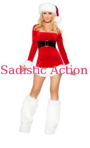 【即納】ROMA 1PC Santas Saint costume 【ROMA (ダンスウェア、衣装、コスチューム、小物)】【クリスマスコスチューム】【RM-CR-C147】