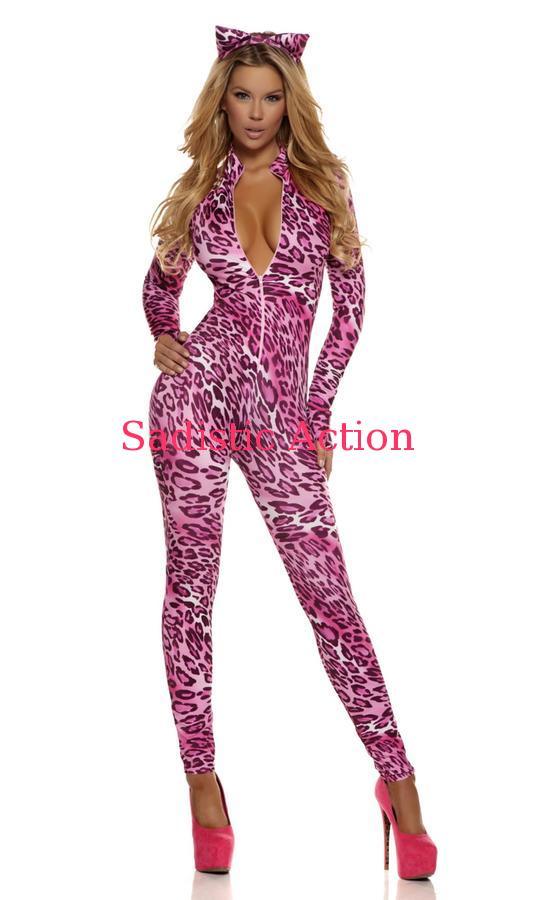 【即納】Forplay Pink Purrrfection Sexy Cat Costume 【Forplay (ダンスウェア、衣装、コスチューム、小物)】【ハロウィンコスチューム】【FOR-CO-553717 】