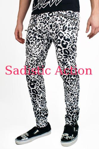【即納】Party Rock Clothing Cheetah Pants WH 【Party Rock Clothing】【PR-SH-Cheetah Pants-WH】