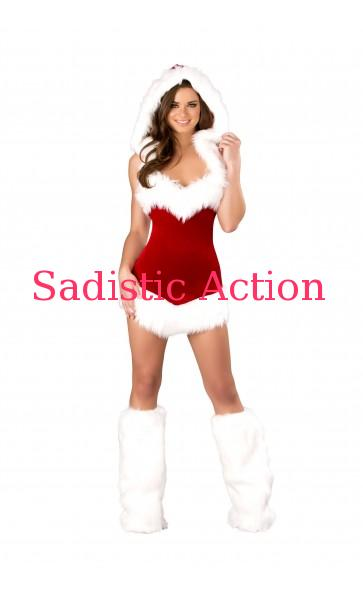 【即納】ROMA 1pc Christmas Beauty 【ROMA (ダンスウェア、衣装、コスチューム、小物)】【クリスマスコスチューム】【RM-CR-C163】