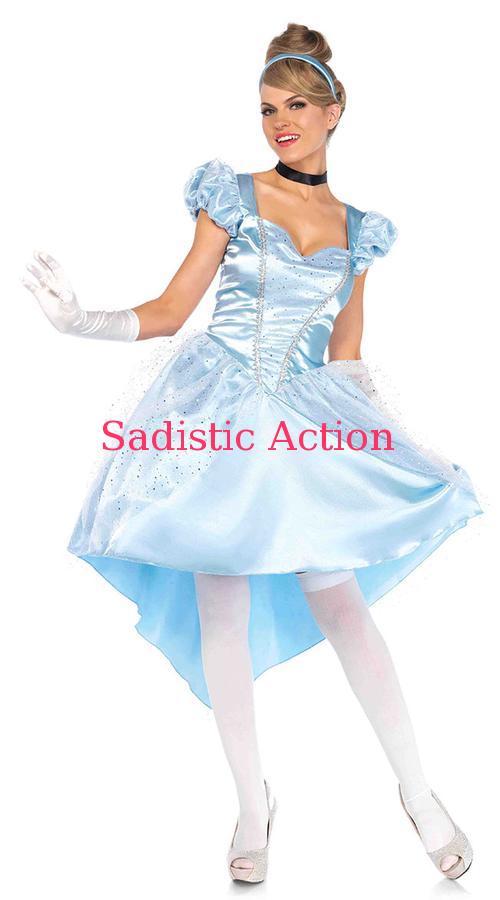 【即納】Leg Avenue Enchanting Cinderella Costume 【Leg Avenue (ストッキング、ランジェリー、衣装、コスチューム、小物)】【ハロウィンコスチューム】【LEG-CO-85624】