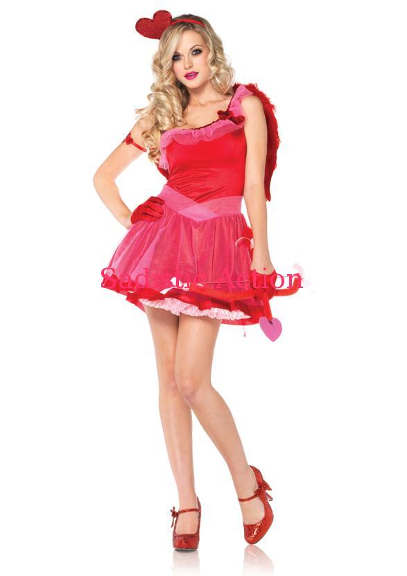 【即納】Leg Avenue Costume、 Kiss Me Cupid 【Leg Avenue (ストッキング、ランジェリー、衣装、コスチューム、小物)】【ハロウィンコスチューム】【コスチュームSALE】【LEG-CO-83793】