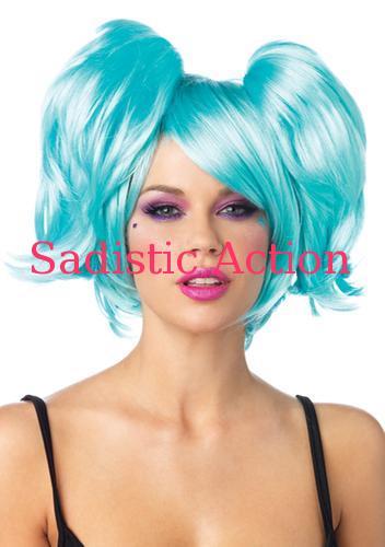 【即納】Leg Avenue Swag pixie bob wig with optional pony tail clips 【Leg Avenue (ストッキング、ランジェリー、衣装、コスチューム、小物)】【コスチュームアクセサリー】【LEG-ACC-A1989】