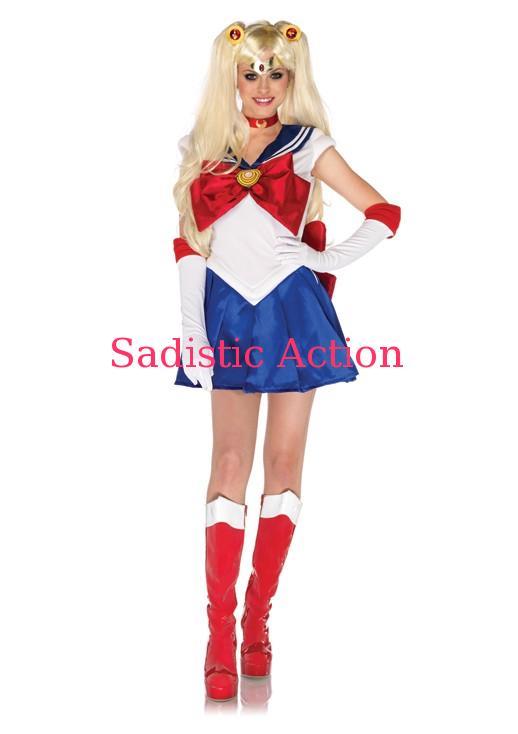 【即納】Leg Avenue 5 PC. Sailor Moon 【Leg Avenue (ストッキング、ランジェリー、衣装、コスチューム、小物)】【ハロウィンコスチューム】【正規ライセンスコスチューム】【LEG-CO-SM84007】
