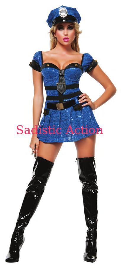 【即納】STARLINE MISS CHIEF OF POLICE 【ハロウィンコスチューム】【STARLINE (コスチューム、ランジェリー、衣装)】【SL-CO-S4319】