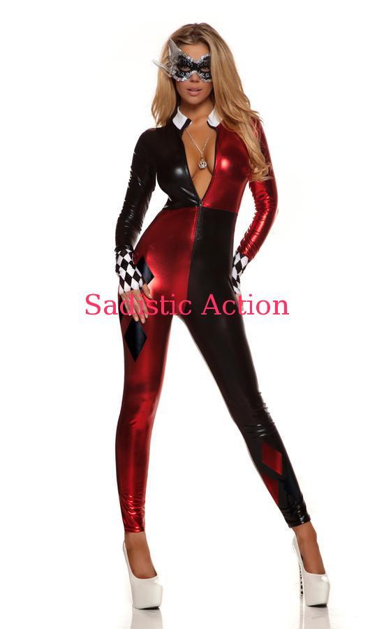 【即納】Forplay Jazzy Jester Comic Book Character Costume 【Forplay (ダンスウェア、衣装、コスチューム、小物)】【ハロウィンコスチューム】【FOR-CO-553709】