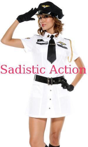 【即納】Forplay Pilot Costume - Mile High 【Forplay (ダンスウェア、衣装、コスチューム、小物)】【ハロウィンコスチューム】【FOR-CO-595017】