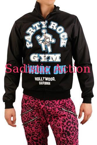 【即納】Party Rock Clothing Unisex Party Rock Gym Jacket 【Party Rock Clothing】【PR-JK-Party Rock Gym Jacket-B/A】