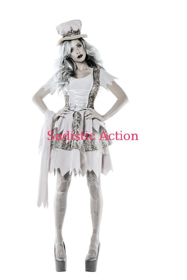 【即納 Costume】STARLINE Victorian Gost Costume【ハロウィンコスチューム Gost Victorian】【STARLINE (コスチューム、ランジェリー、衣装)】【SL-CO-S5480】, STADIUM 1995 STORE:f6223791 --- officewill.xsrv.jp