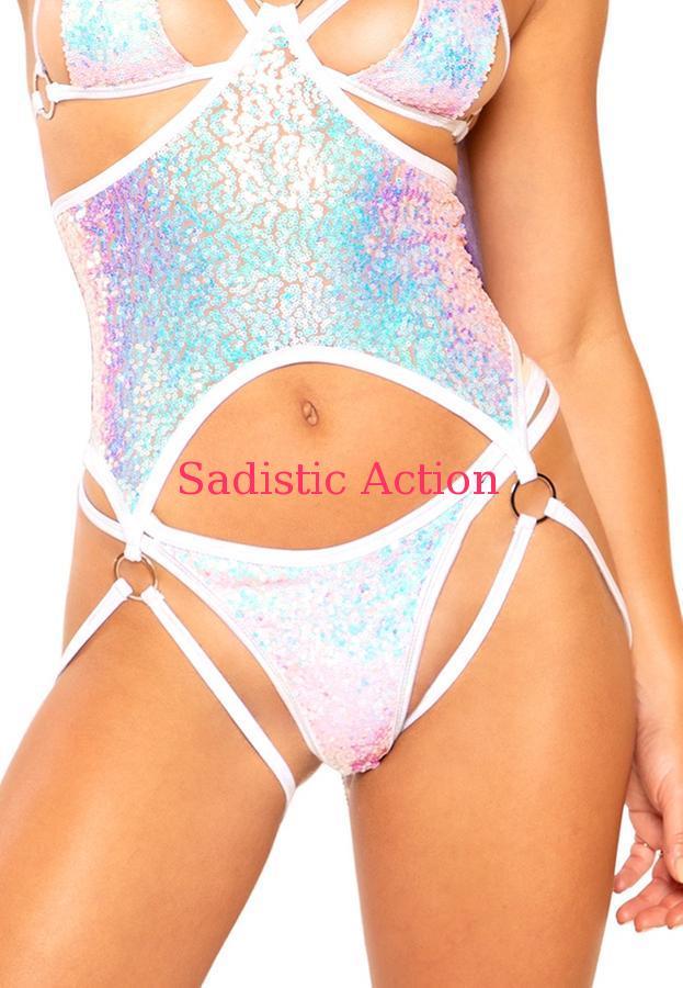 【即納】J.Valentine Double Strap Sequin Bottom 【J Valentine(ダンスウェア、衣装、コスチューム、小物)】【ボトム・スカート】【JV-DW-FF312-CO/SE】