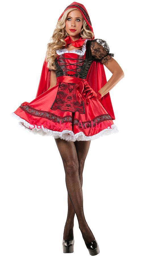 【即納】STARLINE Sweet Little Red Costume 【ハロウィンコスチューム】【STARLINE (コスチューム、ランジェリー、衣装)】【SL-CO-S5811】