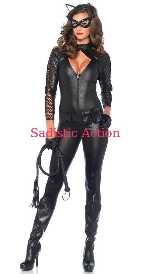 【即納】Leg Avenue Wicked Kitty Costume 【Leg Avenue (ストッキング、ランジェリー、衣装、コスチューム、小物)】【ハロウィンコスチューム】【LEG-CO-85412】