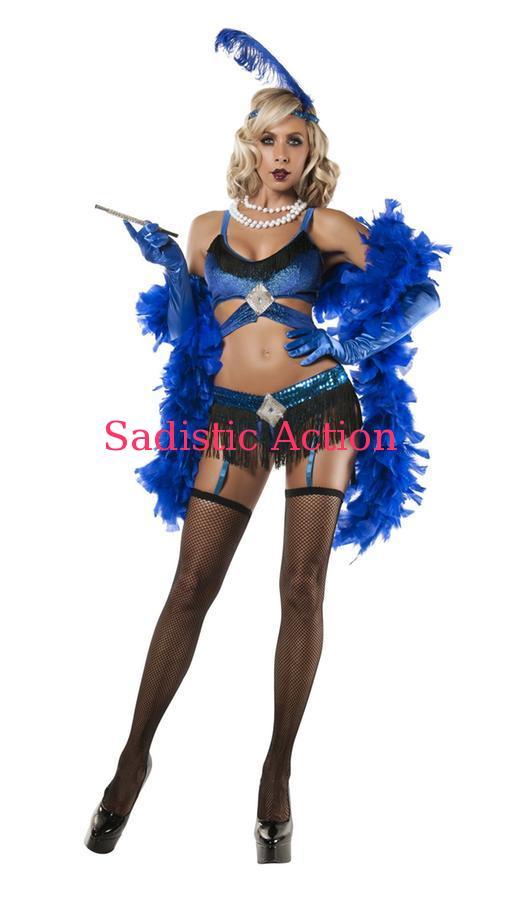 大特価!! 【即納】STARLINE Sapphire Flapper Costume【ハロウィンコスチューム Flapper】【即納】STARLINE Costume【STARLINE (コスチューム、ランジェリー、衣装)】【SL-CO-S5809】, ツグムラ:5b336c75 --- rarspoliplas.com