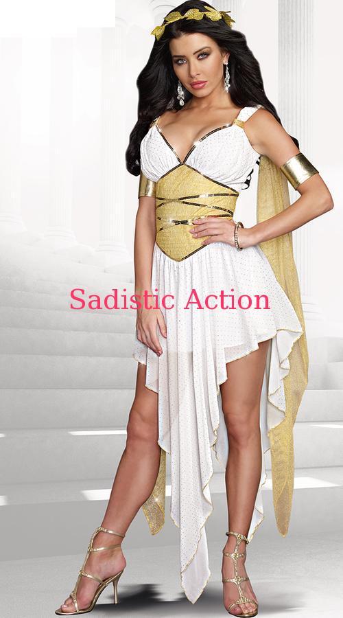 【即納】Dreamgirl Goddess Of Delight Costume 【ハロウィンコスチューム】【Dreamgirl(コスチューム、ランジェリーー、フェティッシュ)】【DG-CO-9875】