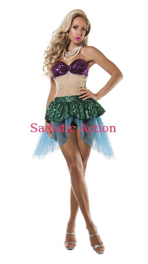 【即納】STARLINE Seductress Sea Seductress Mermaid Costume【ハロウィンコスチューム Sea】 Mermaid【STARLINE (コスチューム、ランジェリー、衣装)】【SL-CO-S5805】, 黒沢牧場:3827fb1d --- officewill.xsrv.jp