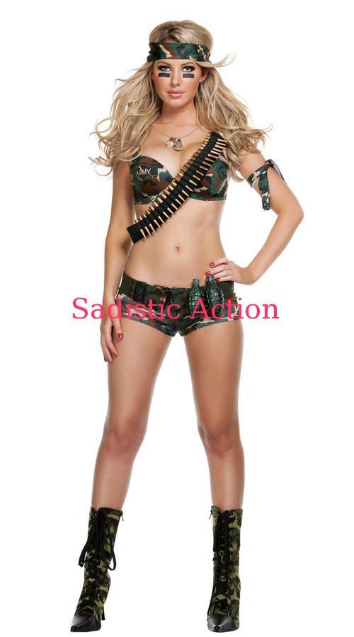 【即納】STARLINE Combat Hottie Costume 【ハロウィンコスチューム】【STARLINE (コスチューム、ランジェリー、衣装)】【SL-CO-S2033】