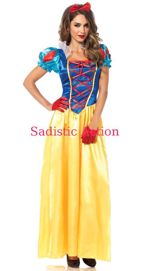 【即納】Leg Avenue Classic Snow Princess Costume 【Leg Avenue (ストッキング、ランジェリー、衣装、コスチューム、小物)】【ハロウィンコスチューム】【LEG-CO-85407】