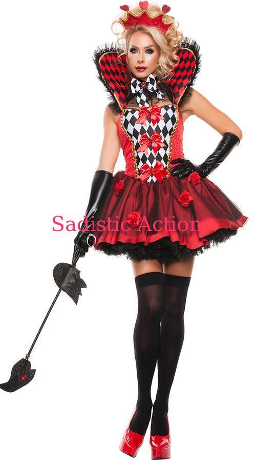 【即納】STARLINE Queen Of Roses Costume 【ハロウィンコスチューム】【STARLINE (コスチューム、ランジェリー、衣装)】【SL-CO-S5132】