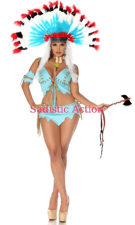 【即納】Forplay Tomahawk Hottie Sexy Costume 【Forplay (ダンスウェア、衣装、コスチューム、小物)】【ハロウィンコスチューム】【FOR-CO-553700】