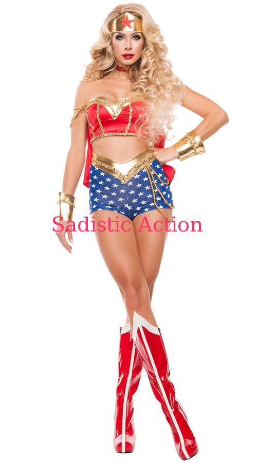 【即納】STARLINE Star Superhero Power Superhero Costume Costume【ハロウィンコスチューム】 Star【STARLINE (コスチューム、ランジェリー、衣装)】【SL-CO-S5165】, ひな福かぐ福:3376dafb --- officewill.xsrv.jp