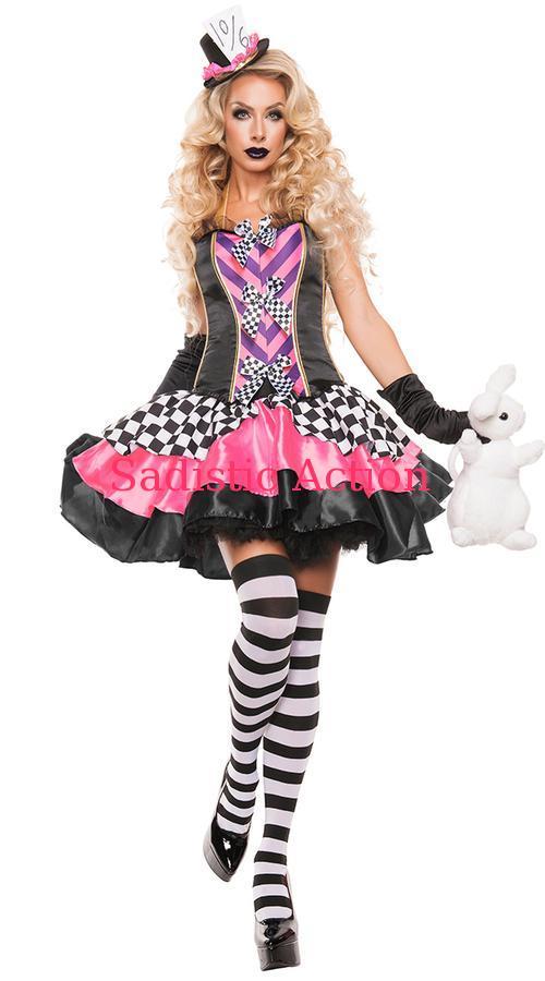 【即納】STARLINE Fancy Hatter Hottie Costume 【ハロウィンコスチューム】【STARLINE (コスチューム、ランジェリー、衣装)】【SL-CO-S5018】