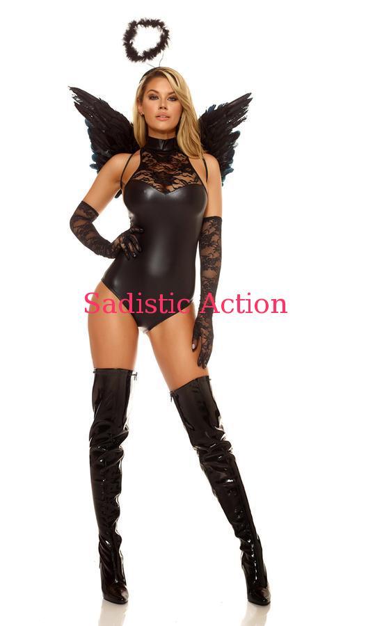 【即納】Forplay Mischief Dark Angel Costume 【Forplay (ダンスウェア、衣装、コスチューム、小物)】【ハロウィンコスチューム】【FOR-CO-556416】
